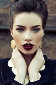 you might think about changing your lipcolour into something more flashy like deep dark red for the night