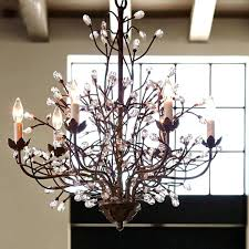 fine tree branches chandelier with simple lighting magnificent ideas branch crystal tree branch chandelier