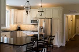Custom Glazed Kitchen Cabinets