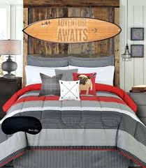 Modern teen bedding Modern Teen Bedding Teen Boys Bedding Modern Striped Rugby Gray Black Red King Comforter Home Interior Candlesticks Fotodevushekclub Modern Teen Bedding Teen Boys Bedding Modern Striped Rugby Gray