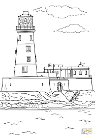 Small Picture Longstone Lighthouse coloring page Free Printable Coloring Pages