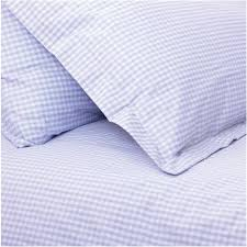 gingham oxford pillowcase choice of colours
