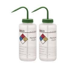 6PK Wash Bottle <b>for</b> Methanol, <b>500ml</b> - Labeled (<b>4 Colors</b>) — Eisco ...