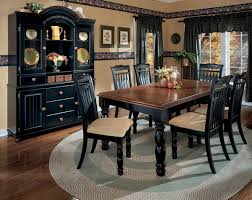 Dining Room With Country Style Ideas Home Decor Ideas Black Dining