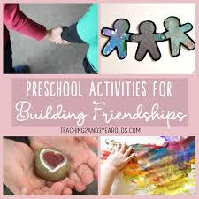 Friendship Chart For School Preschool Friendship Activities