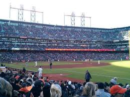 Oracle Park Section 102 Row 15 Seat 13 San Francisco