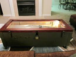 ammo box coffee table thanks wooden ammo box coffee table
