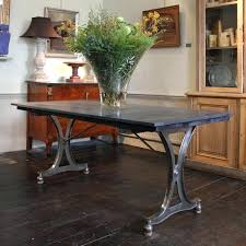 industrial dining table early century industrial dining table desk industrial modern round dining table
