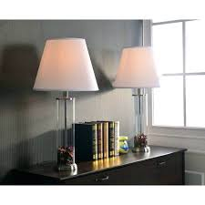 fillable table lamp design craft clear glass table lamp set of 2 fillable glass table lamp australia