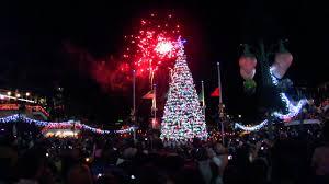 Tree Lighting Jacksonville Christmas Tree Lighting And Fireworks At Jacksonville