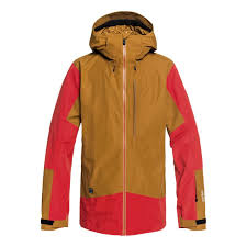Quiksilver Forever 2l Gore Tex Ski Jacket Golden Brown