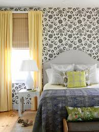 Patterned Wallpaper For Bedrooms 15 Black And White Bedrooms Hgtv