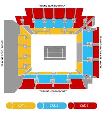 Philippe Chatrier Seating Chart Roland Garros French Open Corporate Sports Unlimited