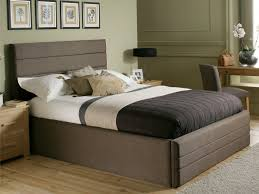 bed frame  stunning double twin bed frame diy twin headboard