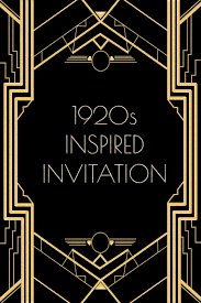 Great Gatsby Invitation Template 20s Years Cabaret Photos Use This 1920s Inspired