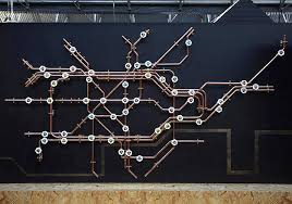 London Underground Coat Rack Classy Pipework London Tube Map Coat Rack Do Shop