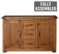 buy harvard 2 door 3 drawer sideboard argos pc living room set