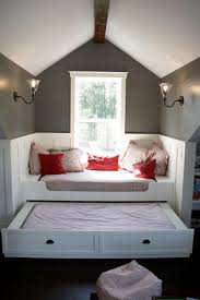 Home Interiors:Small Artistic Bedroom Interior With Space Saving Sliding Bed  Design Ideas Small Artistic
