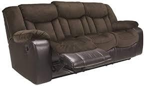 contemporary style furniture. Ashley Furniture Signature Design - Tafton Reclining Sofa Contemporary  Style Java Contemporary Style Furniture D