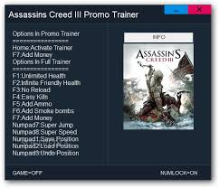 Assassin's creed 3 full game for pc, ★rating: Assassin S Creed Iii 1 Trainer Download