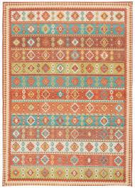 nourison madera mad08 light orange area rug