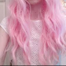 light pink hair dye that lasts a few