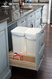 pull out trash mullet cabinet via houzz