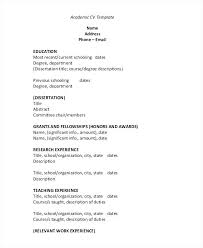Resume Pdf Templates Resume Template Sample File Blank Job