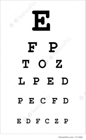 Eye Test Chart Stock Picture I1114562 At Featurepics