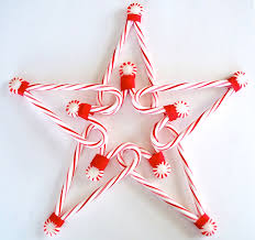 How To Decorate A Candy Cane For Christmas DIY candy cane star decoration links to other candy cane crafts 40