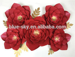 Peony Paper Flower Red Paper Flower Gold Filament Peony Paper Flower Wedding Decoration Buy Red Paper Flower Peony Paper Flower Flower Wedding Decoration Product On