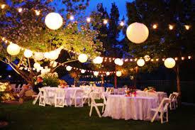 Wedding Decor Shining Backyard Wedding Ideas Decorations Cheap