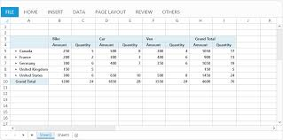 Asp Net Web Forms Spreadsheet Control Syncfusion