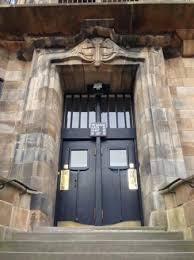 school front door. Wonderful Front The Glasgow School Of Art GSofA Front Door Throughout T