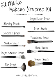 fit s makeup brushes 101 pin able