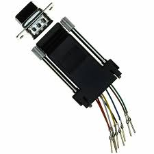 rjadkp norcomp inc connectors interconnects digi key adapter rj45 9pos male db black