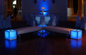 charging end table. Lit Aluminum End Table Charging Station