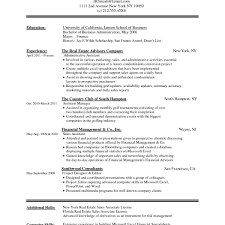 Real Estate Resume Examples Unique Resume Microsoft Word New Best