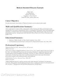 Sample Medical Transcriptionist Cover Letter Resume Format For