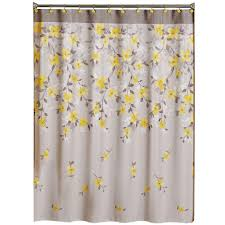 cool fabric shower curtains. Saturday Knight Spring Garden 70 In. W X 72 L Floral Fabric Shower Cool Curtains .