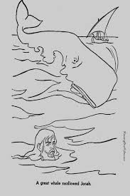 Coloring Pages For Jonah And The Whale Jonah And Whale Bible