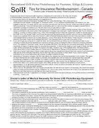 Doctors Letter Of Medical Necessity Solarc Systems Inc