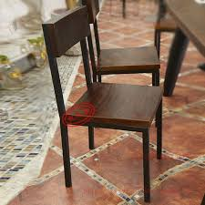 antique restaurant furniture. Brilliant Furniture Vintage Iron Furniture Wood Chair Hotel Fast Food Restaurant And  Coffee Bar Stools Chairs Backrest Combinationin CD Racks From Furniture On  For Antique