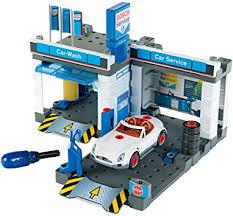 Theo Klein 8647 <b>Bosch</b> Car Service Station I With <b>Car Wash</b> and ...