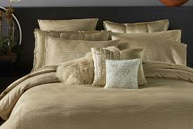 donna karan reflection gold dust bedding collection