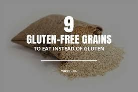 Gluten In Grains Chart The Complete List Of Gluten Free Grains 9 In Total Yuri