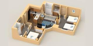two bedroom suite sonesta es suites