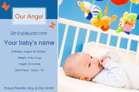 birth announcement templates free photo templates download baby birth announcement