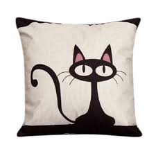 Small Picture OverDose Home Decoration Cute Cat Pillow Case Cushion CoverNo