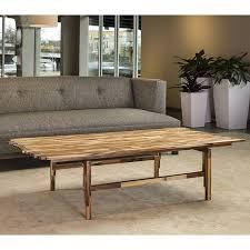 jigsaw coffee table in acacia terramai pdx